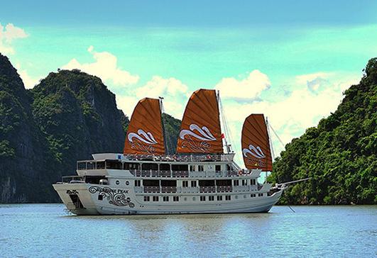 Du thuyền Hạ Long 5 Sao Paradise 2 ngày 1 đêm