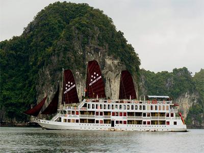 Tour Du thuyền Hạ long: Victoria Star 5 sao