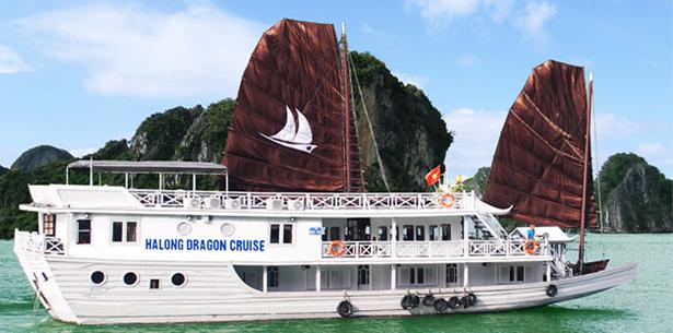 Tour Hạ Long 2 ngày 1 đêm Du thuyền Hạ Long Dragon Cruise