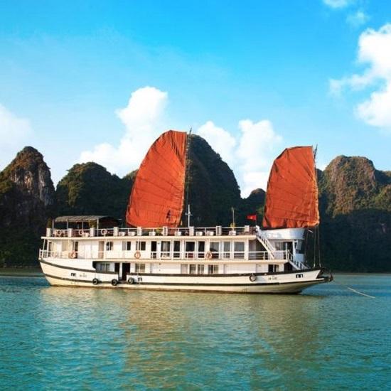 Du thuyền Hạ Long Apricot Cruise 2 ngày 1 đêm