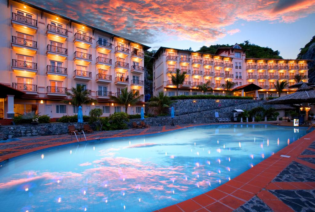 Du Thuyền Golden Cruise 3 ngày 2 đêm (1 đêm ngủ tầu 1 đêm ngủ Catba island resort)