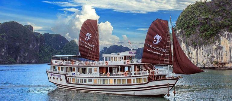 Tour du thuyền Hạ Long VioLa Cruise