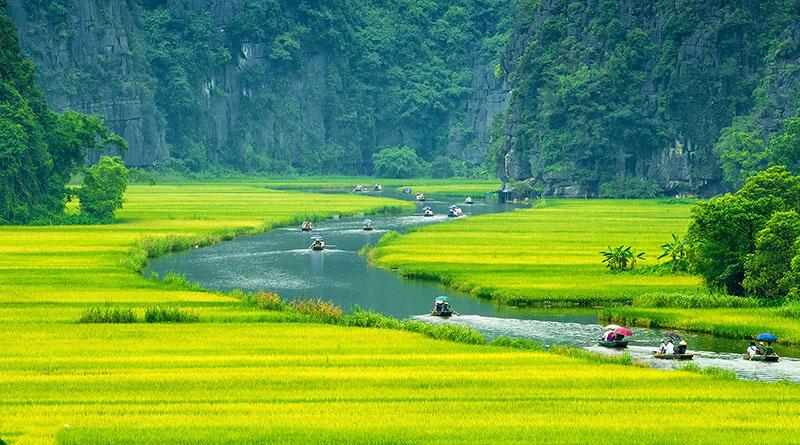 Tour du lịch Tràng An Bái Đính-Hoa Lư Tam Cốc-Suối cá thần-Thành nhà Hồ- Kinh thành cổ Lam Kinh