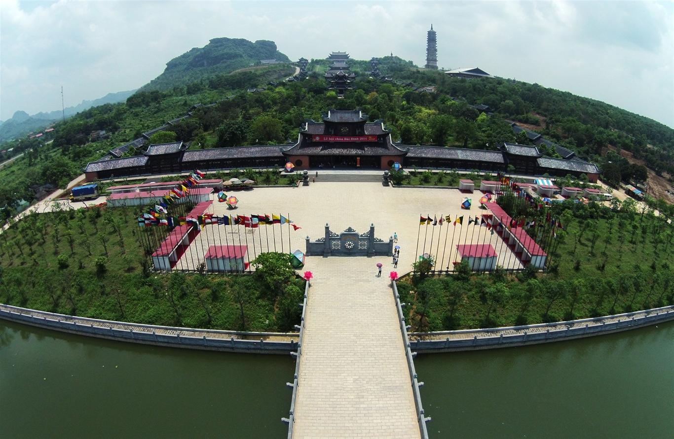 Image result for chùa bái đính ninh bình