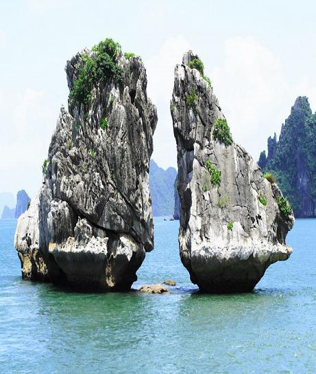Tour Hạ long Tuần Châu - Yên tử  3 ngày 2 đêm 1 đêm tàu 1 đêm KS Đảo Tuần Châu