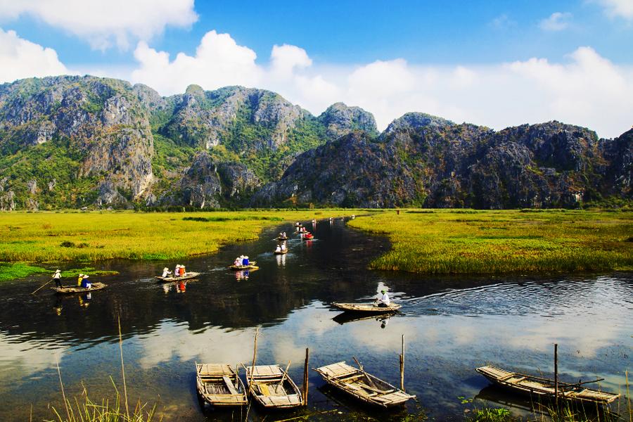 Tour du lịch Chùa Tam Chúc-Đầm Vân Long 1 ngày